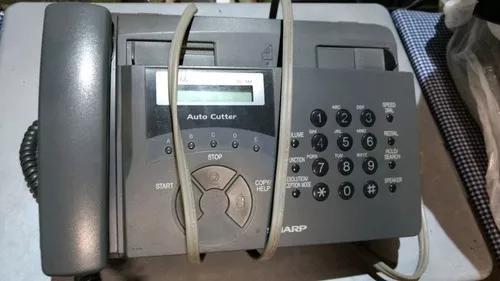Aparelho de fax sharp auto cutter