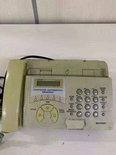 Aparelho de fax sharp ux 67