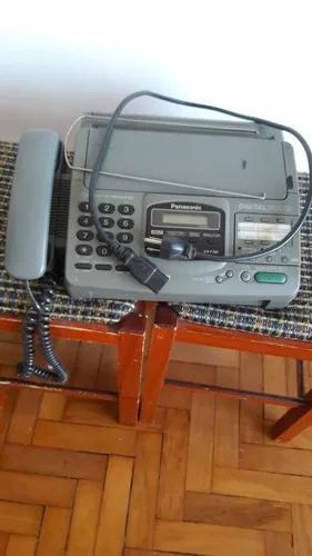 Aparelho de telefone e fax da panasonic