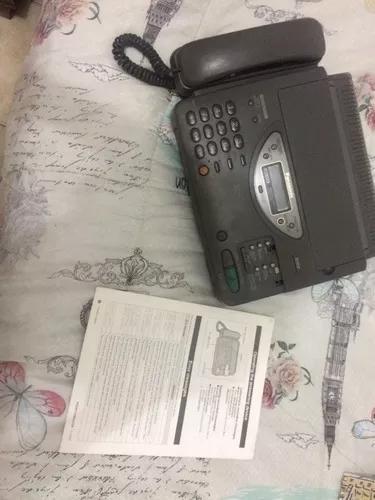 Aparelho de telefone e fax panasonic kx - f800