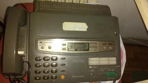 Aparelho de telefone e fax panasonic modelo kx-f750