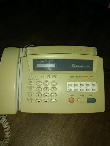 Aparelho fax brother personal 275
