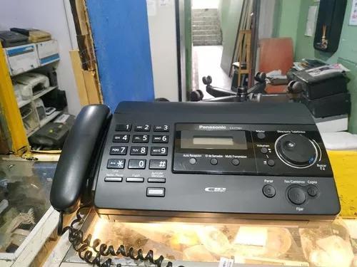 Aparelho fax panasonic kxft501 revisado funcionando ok. ok