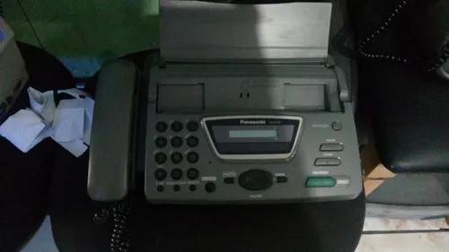 Aparelho telefone fax panasonic kx-ft-72 revisado funcionand