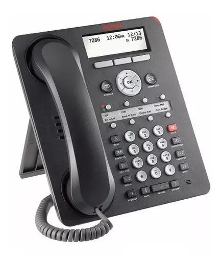 Aparelho telefone ip avaya 1608i com fonte