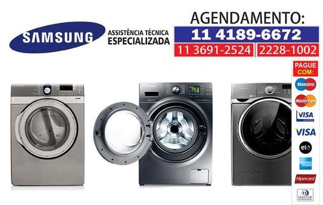 Assistência samsung: lava e seca, lavadora de roupas e