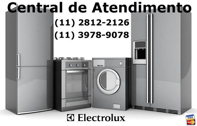 Assistência técnica electrolux, geladeira, fogão,