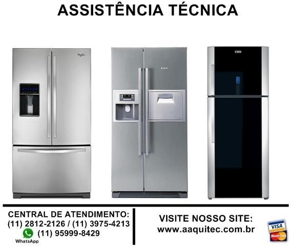 Assistência técnica geladeira bosch, brastemp, lg, ge,