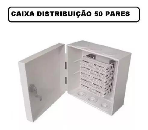 Caixa De Distribuição 50 Pares Multitoc