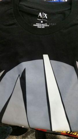 Camistas armani ax 10 peças atacado www.pointshop.com.br