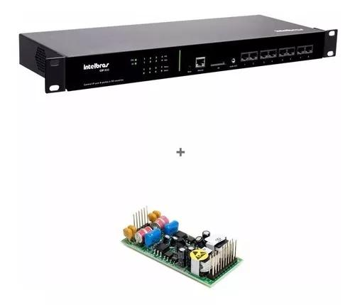 Central pabx ip intelbras voip cip 850 gateway 2 portas fxo