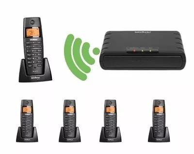 Central telecom ip dect ts60ip intelbras