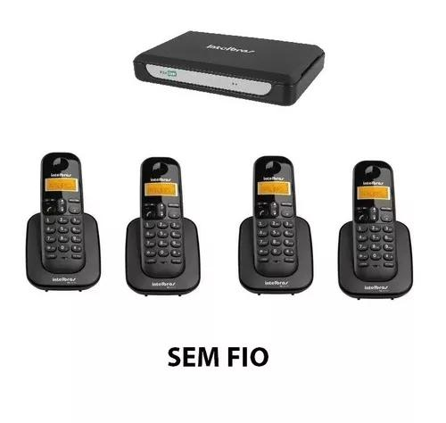 Central telefonica intelbras 4 ramais s