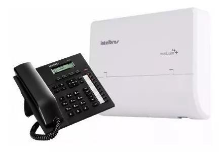 Central telefonica intelbras modulare 4 lin 12 ram +ti 830i