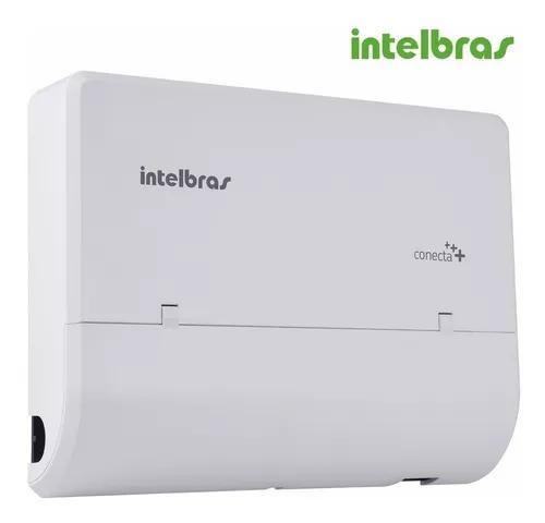 Central telefonica pabx conecta+ 2 linhas 8 ramais intelbras