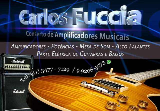Conserto de amplificadores musicais