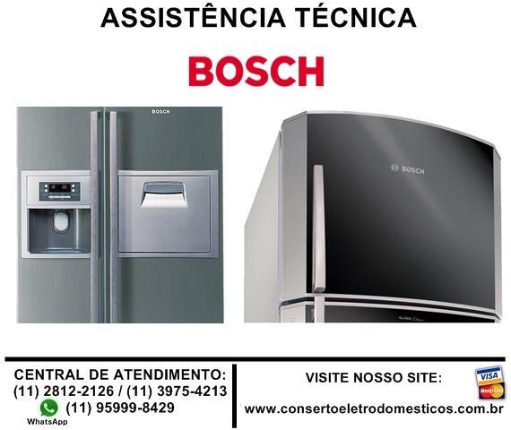 Conserto de refrigerador bosch duplex e side by side, troca