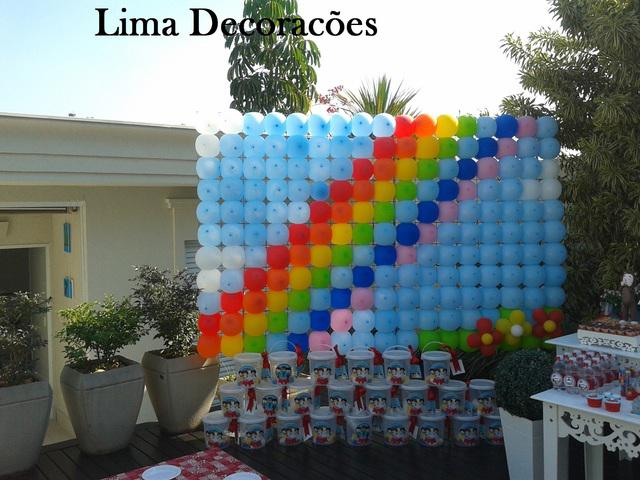 Decoração com balão - bexigas