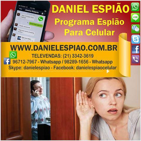 Daniel espião - celular espião, gravador de ligações,