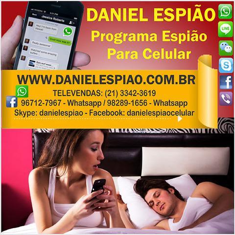 Daniel espião - programa espião para celular, como