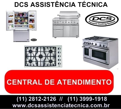 Dcs assistência técnica de fogão, forno, cooktop