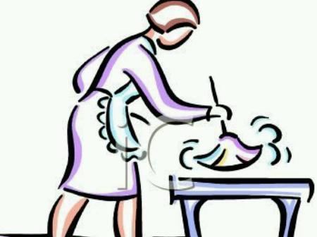 Diarista faxineira passadeira empregada doméstica