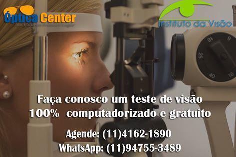 Exame de vista completo 4201-1446 - optica center