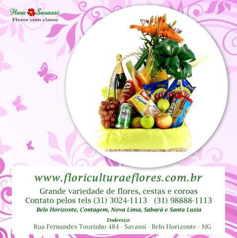 Entrega flores cestas de café da manhã em contagem