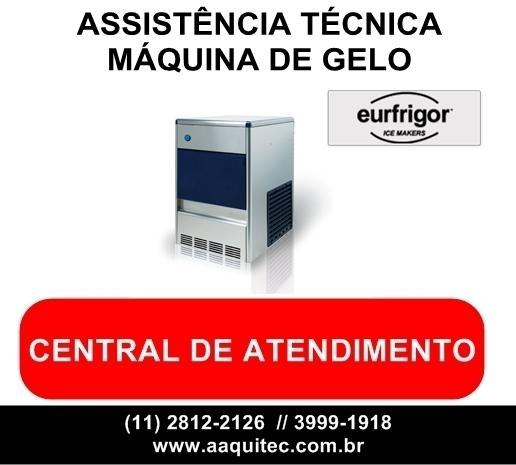 Eurfrigor assistência técnica de máquina de gelo
