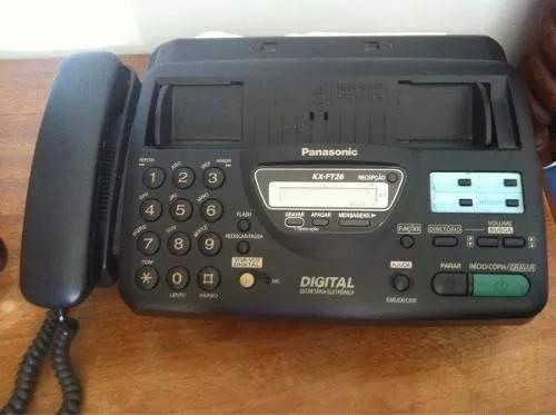 Fax / fone panasonic kx ft26