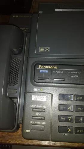 Fax panasonic + 18 filmes de impressão são paulo/sp