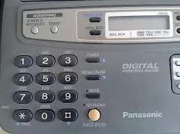 Fax panasonic kx ft 750 bina secretaria viva voz corta papel