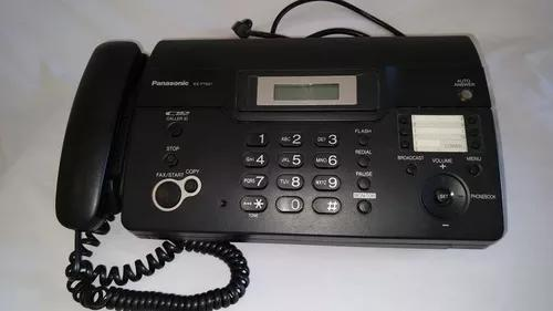 Fax panasonic kx ft 931 papel termico