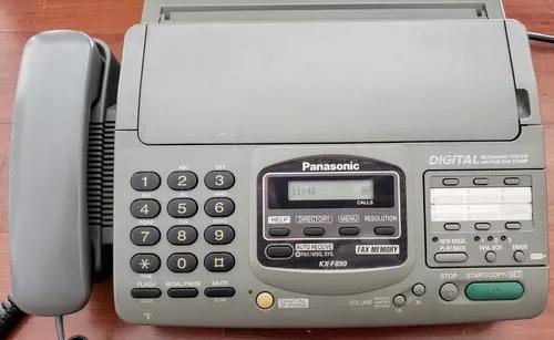 Fax panasonic kx-f890 funcionando - com super desconto!!!