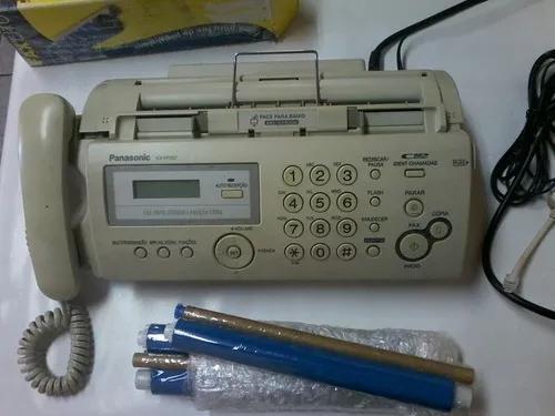 Fax panasonic kx -fp207 perfeito
