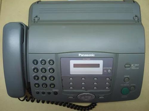 Fax panasonic kx-ft902br - usado