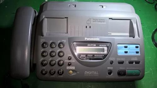 Fax panasonic modelo kx-ft26br (leia o anúncio)