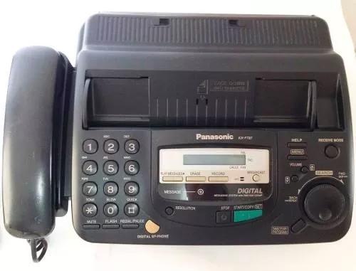Fax panasonic papel térmico com secretária elêtronica