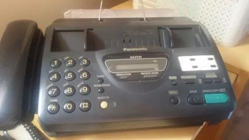 Fax papel térmico panasonic kx-ft 21, usado