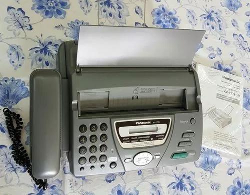 Fax secretaria eletronica digital modelo kx -ft 78 br