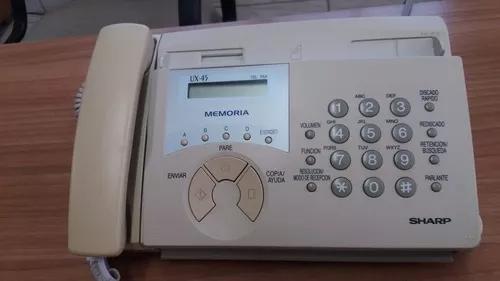 Fax Sharp Acompanha 2 Bobinas