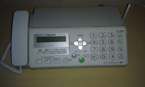 Fax sharp aparelho