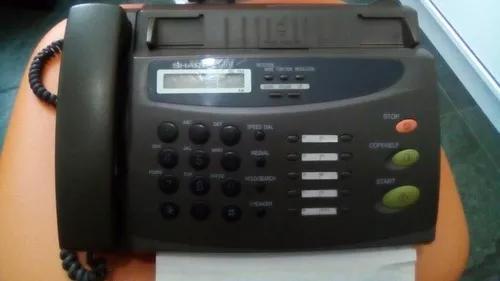 Fax sharp ux 108, leia