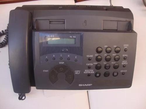 Fax sharp ux-44 com defeito (sucata) leia a descrição
