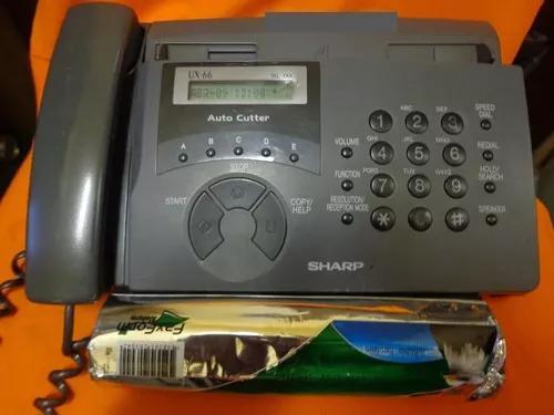 Fax sharp ux-66 - funcionando