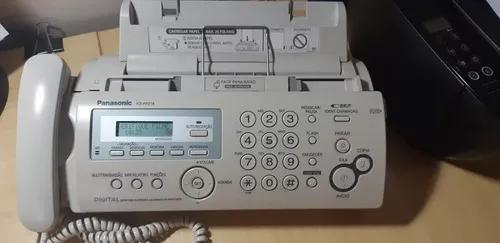 Fax - telefone - secretária eletrônica com bina panasonic