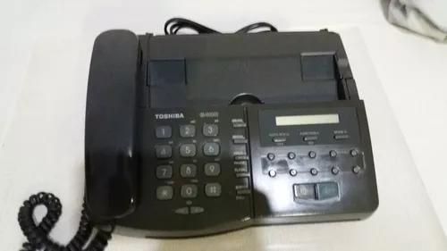 Fax toshiba 6400 funcionando e com papel