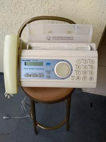 Fax xerox e telefone sharp
