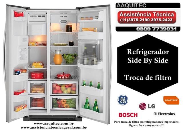 Filtro para refrigerador side by side