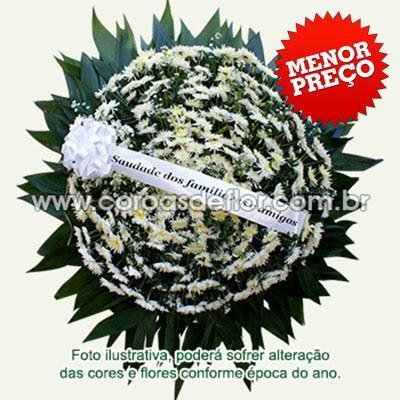 Flores velorio entrega rápida frete grátis coroa de
